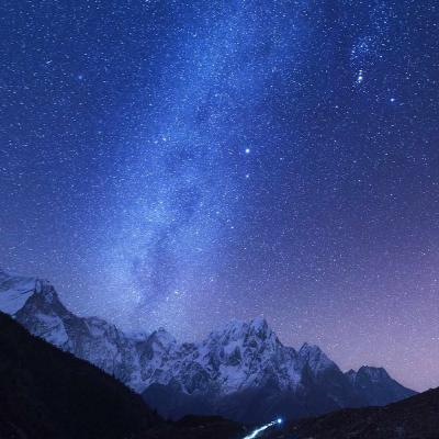 Balade sous les étoiles