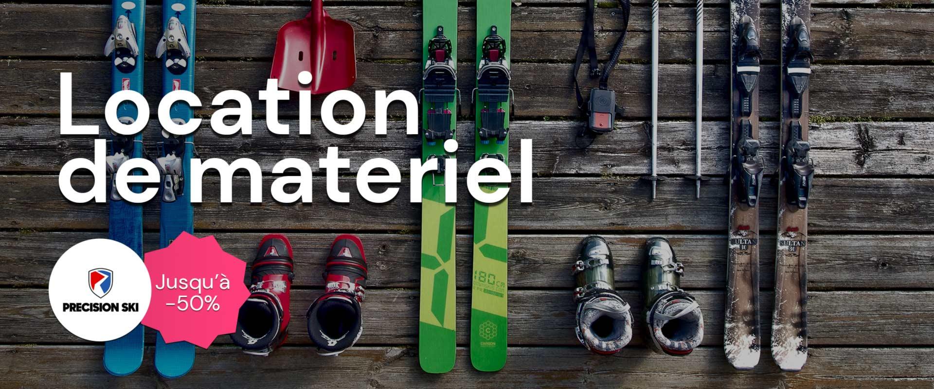 Location de ski avec Precision Ski sur Alpissime